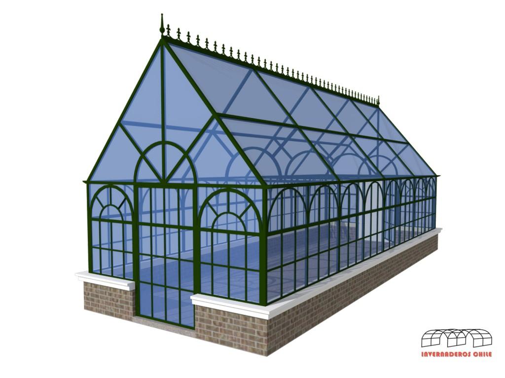 invernaderos tipo capilla