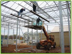Construcción de Invernaderos en Chile